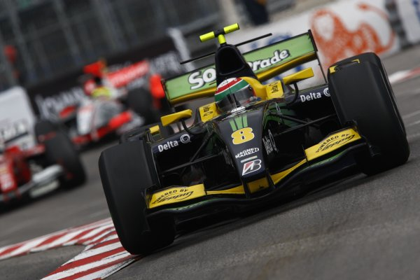 2008 GP2 Series. Round 3. Saturday Race. Monte-Carlo, Monaco. 24th May 2008.Alvaro Parente (POR, Super Nova Racing). Action. World Copyright: Andrew Ferraro/GP2 Series Media Service.ref:__H0Y6298 jpg