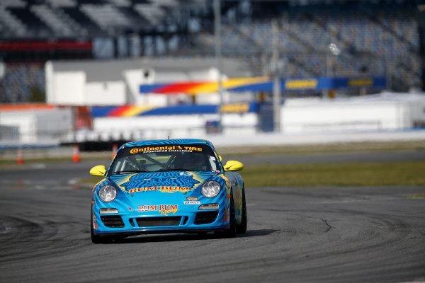 3-5 January, 2014, Daytona Beach, Florida, USA #13, Porsche, 997 © 2014, Michael L. Levitt LAT Photo USA