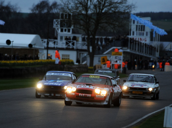 2017 75th Members Meeting Goodwood Estate, West Sussex,England 18th - 19th March 2017 Gerry Marshall Trophy Neal Camaro World Copyright : Jeff Bloxham/LAT Images Ref : Digital Image