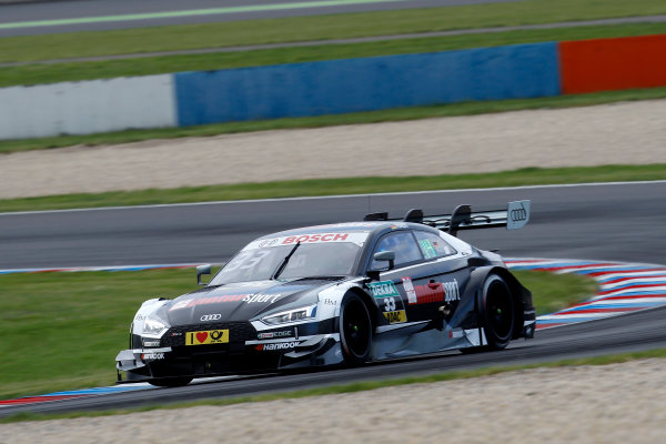 2017 DTM Round 2 Lausitzring, Germany. Saturday 20 May 2017. Ren? Rast, Audi Sport Team Rosberg, Audi RS 5 DTM World Copyright: Alexander Trienitz/LAT Images ref: Digital Image 2017-DTM-R2-ESL-AT1-1212