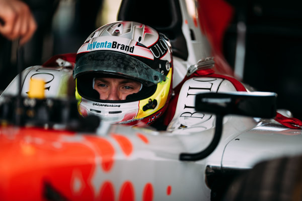 Bahrain International Circuit, Sakhir, Bahrain. Wednesday 29 March 2017 Jordan King (GBR) MP Motorsport  Photo: Malcolm Griffiths/FIA Formpula 2 ref: Digital Image MALC4331 2