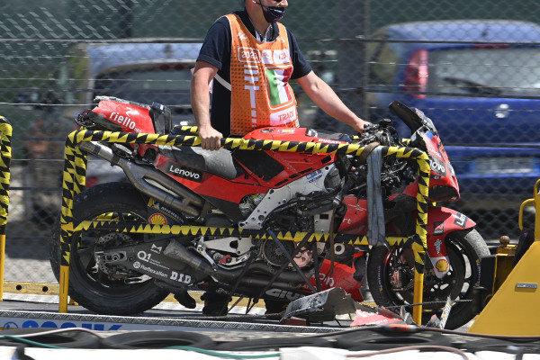 32 Francesco Bagnaia Motogp Ducati Team Images Italian Gp 2021