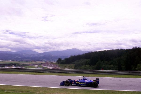2000 Austrian Grand Prix.A1-Ring, Zeltweg, Austria.14-16 July 2000.Nick Heidfeld (Prost AP03 Peugeot).World Copyright - LAT Photographic
