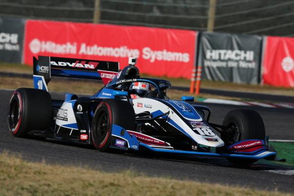 Yuji Kunimoto ( #18 carrozzeria Team KCMG ), Dallara SF Toyota, 3rd position in round five. Photo: Yukio Yoshimi