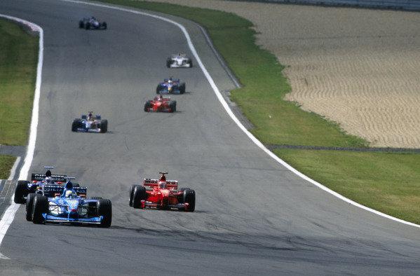 1999 European Grand Prix.Nurburgring, Germany. 24-26 September 1999.Giancarlo Fisichella (Benetton B199 Playlife).World Copyright - LAT Photographic
