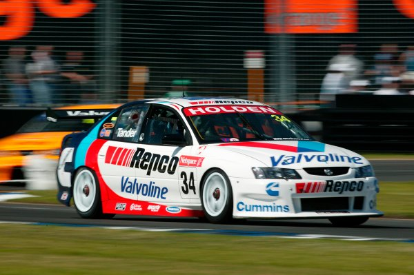 2003 Australian V8 Supercars MelbourneVictoria,Australia 9th March 2003Holden driver Garth Tander in action in the new VY Commodore during the V8 Supercars at the 2003 Australian GP.World Copyright: Mark Horsburgh/LATPhotographic ref: Digital Image Only