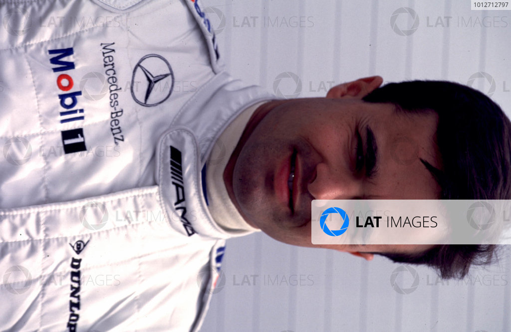Pedro Lamy - Portrait.DTM Testing - Oschersleben, 16th April 2000.Five weeks before the start of the season, Four Mercedes-Benz CLK DTM and four Opel Astra VS Coupe, took part in the first major test at Oschersleben.World - Griffiths/LAT