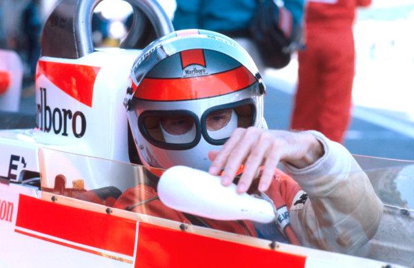 1979 French Grand Prix. Dijon-Prenois, France. 29/6-1/7 1979. John Watson (McLaren M28 Ford) 11th position. Ref: 79FRA30. World Copyright - LAT Photographic