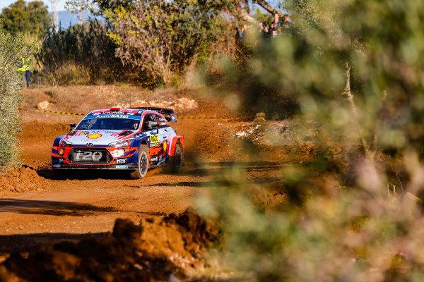 Dani Sordo (ESP), Hyundai World Rally Team, Hyundai i20 Coupe WRC 2019